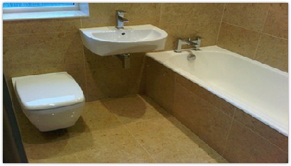 Bathroom renovation/installation and marble tiling in Fareham